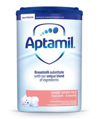 Aptamil hungry baby milk formula from birth 800g