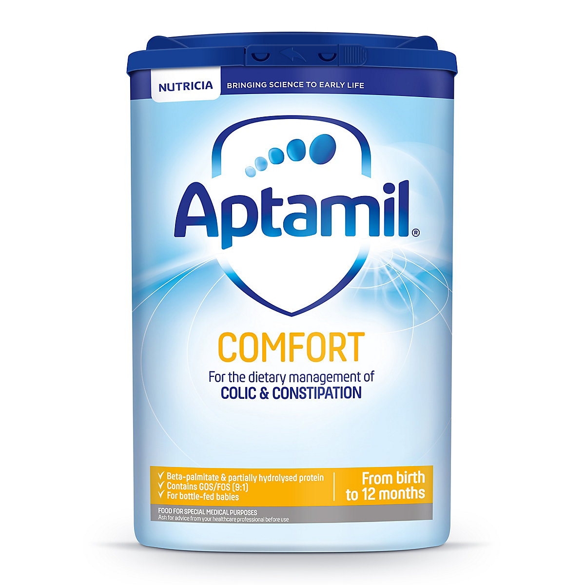 Aptamil comfort baby milk formula from birth 800g