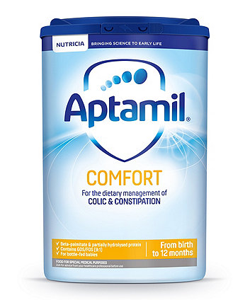 Aptamil comfort baby milk formula from birth 800g