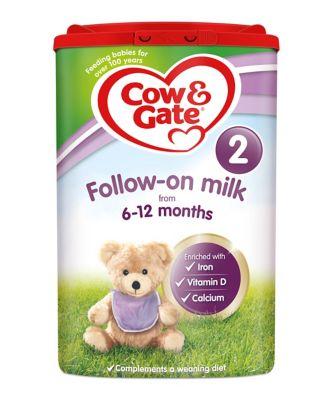 Cow & Gate 2 follow on baby milk formula 800g