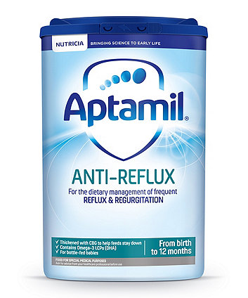 Aptamil anti-reflux baby milk formula from birth 800g