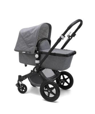 Bugaboo cameleon³ plus classic pram and pushchair – grey melange / black