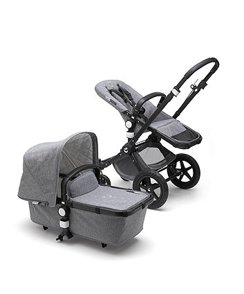 Bugaboo cameleon³ plus classic pram and pushchair – grey melange / black