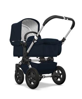 Bugaboo donkey2 classic mono pram and pushchair – dark navy / aluminium *exclusive to mothercare*