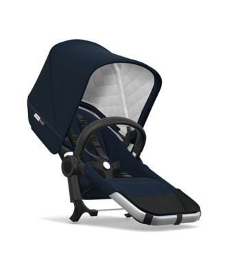 Bugaboo Donkey2 classic duo extension set complete - aluminium/dark navy *exclusive to mothercare*