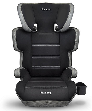 Harmony dreamtime elite highback booster seat - silver
