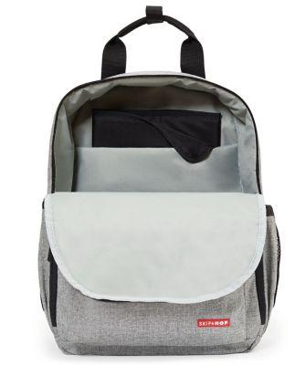 Skip Hop duo changing backpack - grey melange