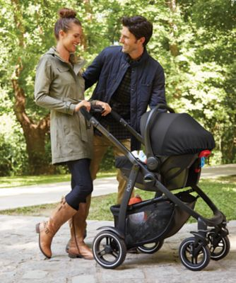 Graco evo xt stroller - black/grey