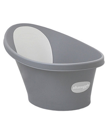 Shnuggle bath with slate grey backrest