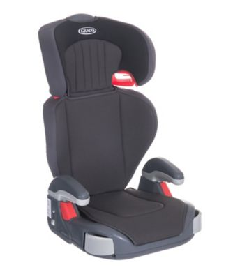 Graco junior maxi highback booster car seat - midnight black