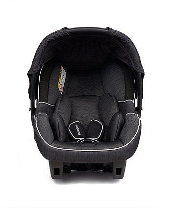 mothercare ziba plus baby car seat - nova black