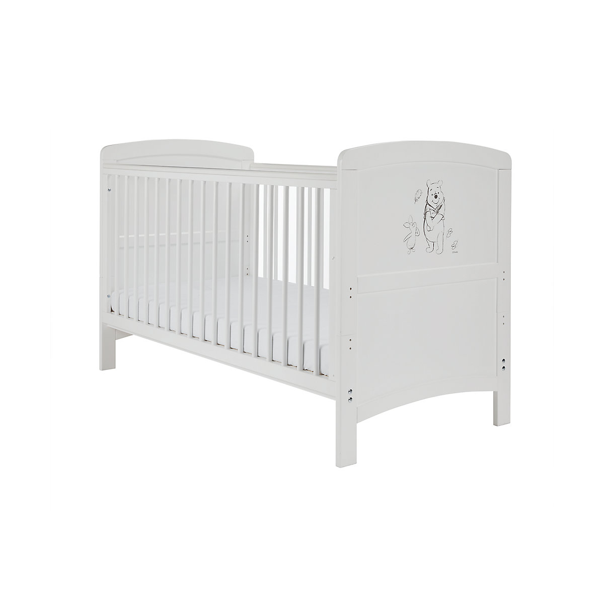 winnie the pooh cot bed - white