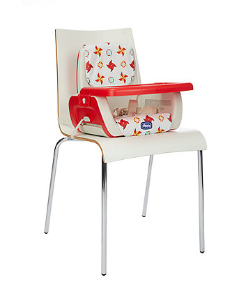 Chicco mode booster seat - red