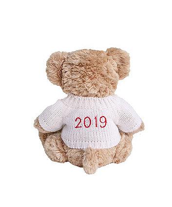 babyblooms personalised 2019 bertie bear - white