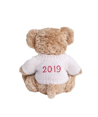 babyblooms personalised 2019 bertie bear - white