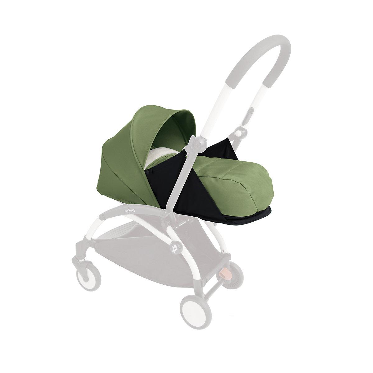 BabyZen yoyo+ newborn nest and colour pack - peppermint