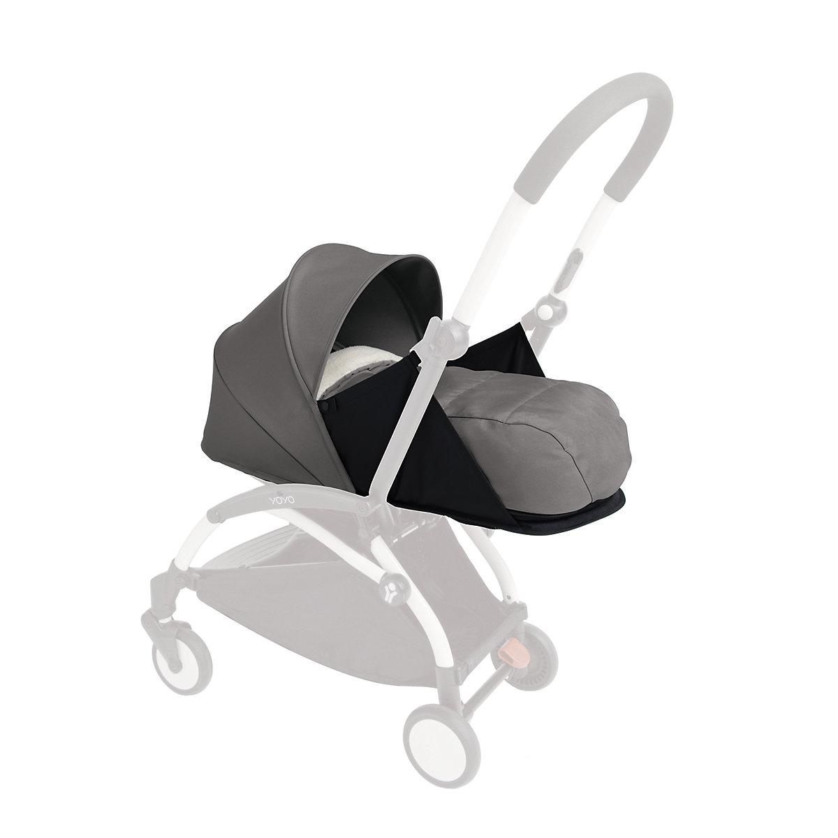 BabyZen yoyo+ newborn nest and colour pack - grey