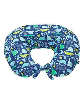 dinosaur printed feeding pillow