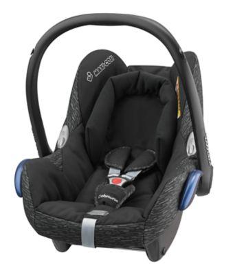 Maxi-Cosi cabriofix baby car seat - black lines