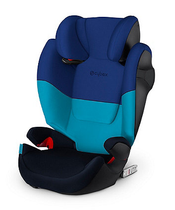 Cybex solution m-fix group 2/3 car seat - blue moon