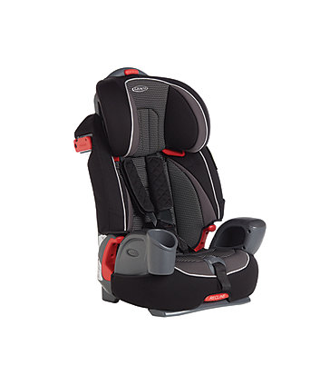 Graco nautilus group 1/2/3 highback booster car seat - gravity
