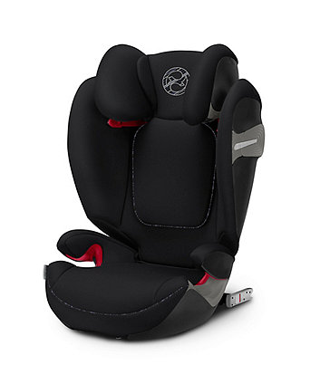 Cybex solution s-fix highback booster car seat - urban black
