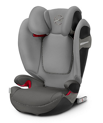 Cybex solution s-fix highback booster car seat - manhatten grey