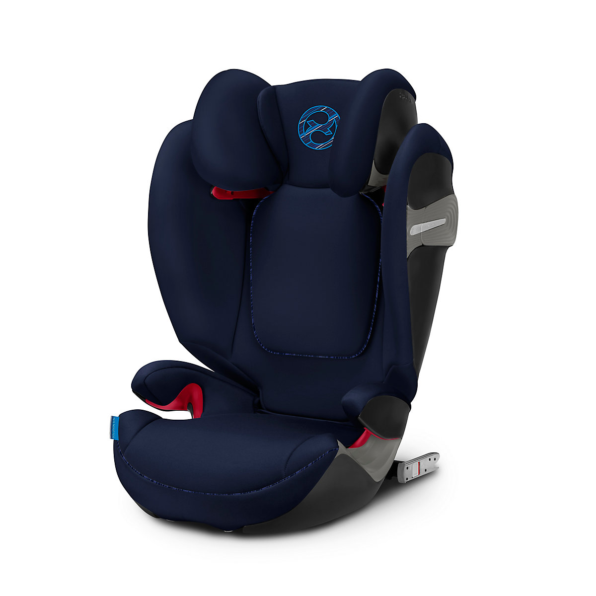 Cybex solution s-fix highback booster car seat - indigo blue
