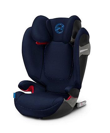Cybex solution s-fix highback booster car seat - indigo blue