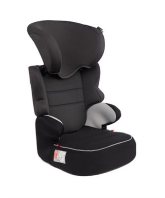 mothercare montreal sp high back booster - black