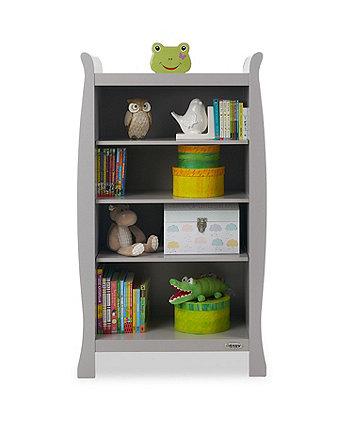 Obaby Stamford sleigh bookcase - warm grey