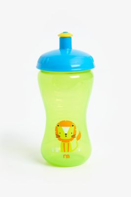 mothercare free flow sports bottle - blue