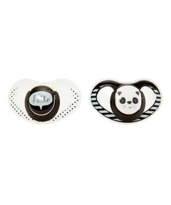 mothercare airflow fun faces soothers - 2 pack