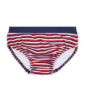 ahoy striped swim nappy