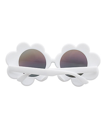 white flower sunglasses