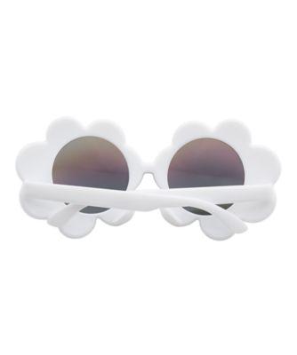 white flower sunglasses