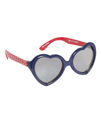 heart polka dot sunglasses