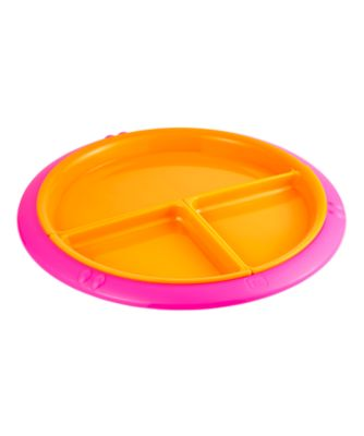 mothercare removable section divider plate - pink