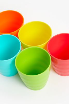 mothercare essential cups - 5 pack