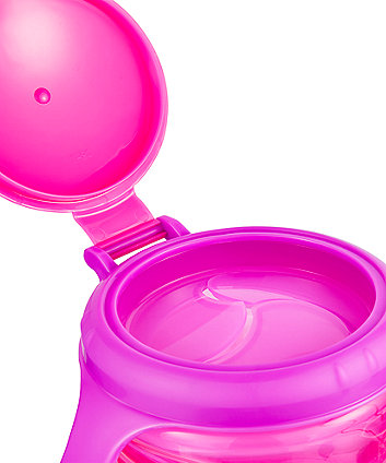 mothercare non-spill snack pod - pink