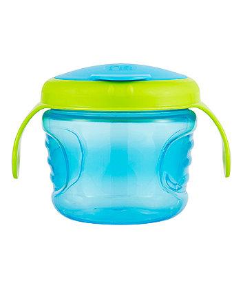 mothercare non-spill snack pod - blue