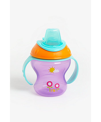 mothercare non-spill first tastes cup - pink