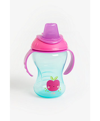mothercare non-spill trainer cup - pink