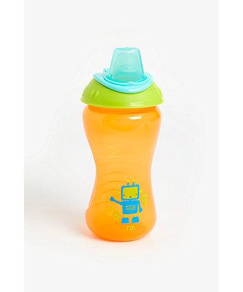 mothercare non-spill toddler cup - blue