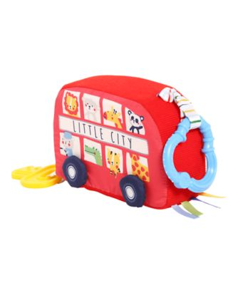 On The Road Beeping Bus Activity Toy