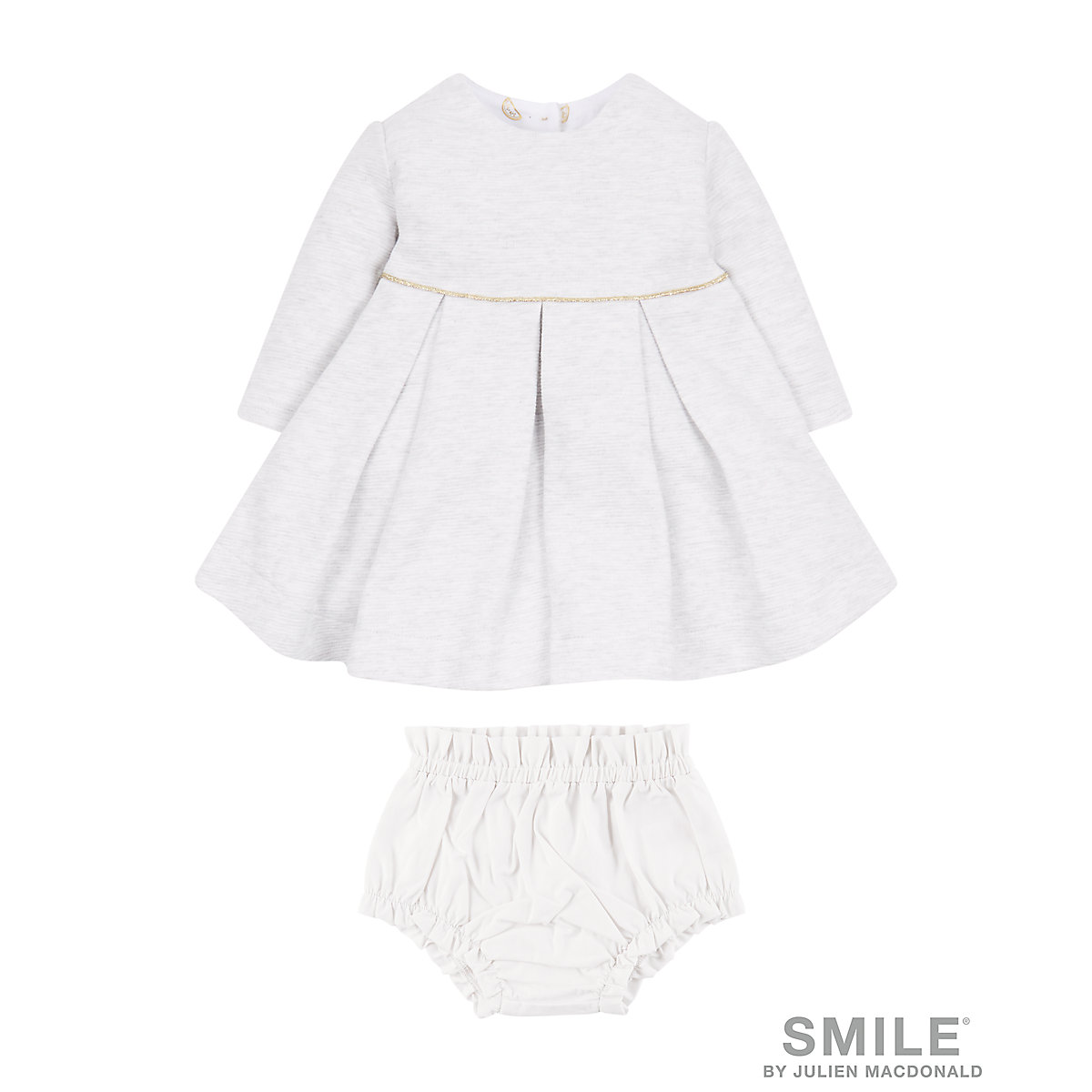 SMILE By Julien Macdonald Grey Dress And Knickers
