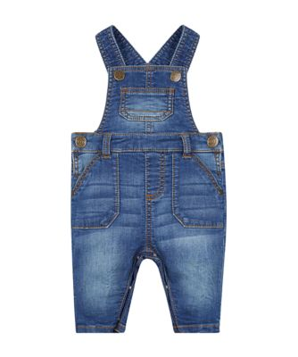 my first denim dungarees