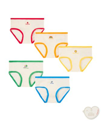 little bird by Jools days of the week briefs - 5 pack