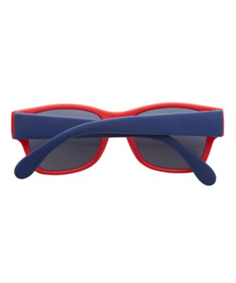 red and navy wayferer sunglasses