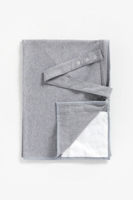 mothercare breastfeeding shawl - grey jersey